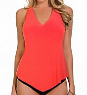 MagicSuit Solids Underwire Removable Pad Tankini Swim Top 6000152