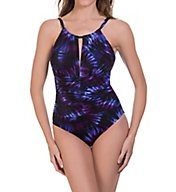 MagicSuit Culture Club Kat Wireless One Piece Swimsuit 6001873