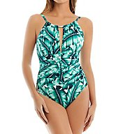 MagicSuit Lanai Kat Soft Cup High Neck One Piece Swimsuit 6003473