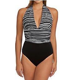 MagicSuit Yves Plunge One Piece Swimsuit 6003717