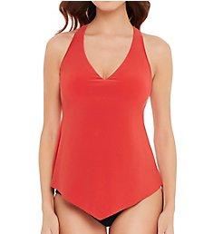 MagicSuit Solid Taylor Underwire Tankini Swim Top 6006052