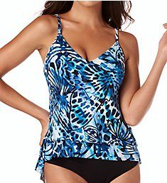 MagicSuit Monarch Jolene Underwire Tankini Swim Top 6007053