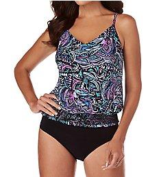 MagicSuit Gypsy Justina Wireless Tankini Swim Top 6007232