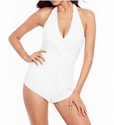MagicSuit Twister Theresa Romper One Piece Swimsuit 6009943
