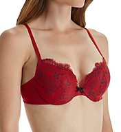 Maidenform Center of Attention Cross Dye Lace Demi Bra 0413LC