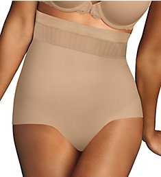 Maidenform Firm Foundations Stay Put High Waist Brief Panty DM0040