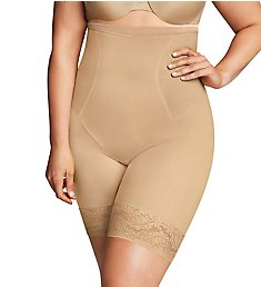 Maidenform Plus Size Curvy Hi Thigh Slimmer DM1024