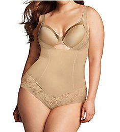 Maidenform Firm Foundations Curvy Body Shaper w/ Cool Comfort DM1025