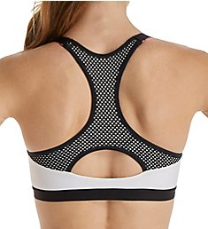 Maidenform Secure Zip Front Underwire Racerback Sports Bra DM7991