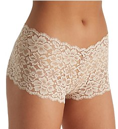 Maidenform Casual Comfort Lace Cheeky Boyshort Panty DMCLBS