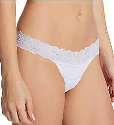 Maidenform Comfort Devotion Embellished Lace Thong DMESLT