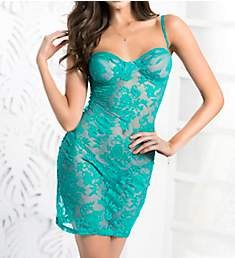 Mapale Lace Chemise with Matching Thong 7170
