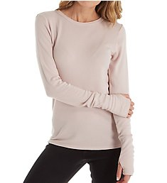Michael Stars Baby Thermal Long Sleeve Crew Neck Top 1425