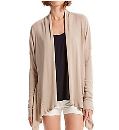 Michael Stars Coastal Rib Emree Shawl Collar Cardigan 9036