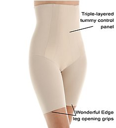 Miraclesuit Shape With An Edge Hi-Waist Thigh Slimmer 2709
