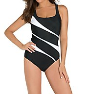 Miraclesuit DD-Cup Sports Page Helix Underwire One PC Swimsuit 3316DD