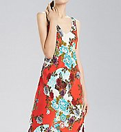 N by Natori Blossoming Fans Gown CC3001