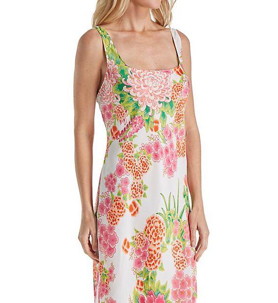 N by Natori Majestic Garden Long Gown CC3017