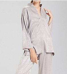 N by Natori Animal Satin Jacquard PJ Set CC6011