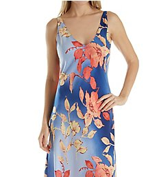 N by Natori Ombre Floral Long Gown EC3025