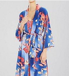 N by Natori Ombre Floral Long Robe ec4025