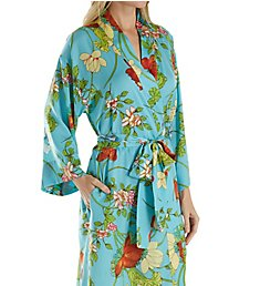 N by Natori Aquarelle Long Robe EC4029