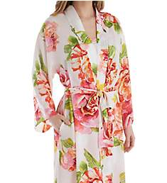 N by Natori South Pacific Silky Satin Robe EC4031