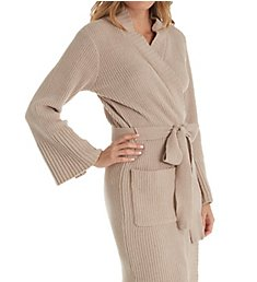 N by Natori Joie Ribbed Chenille Wrap FC4324
