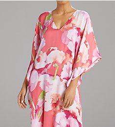 N by Natori Pastel Blossom 52 Inch Caftan GC0074