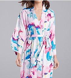 N by Natori Pastel Blossom 49 Inch Robe GC4074