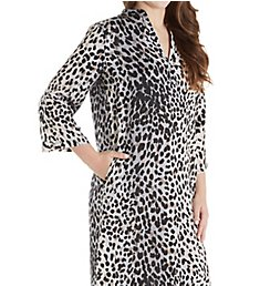 N by Natori Cheetah Caftan KC0152