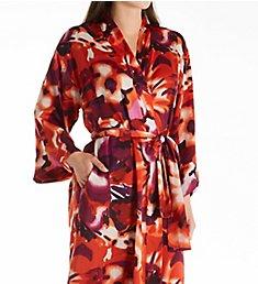 N by Natori Summer Blossom Long Robe KC4051