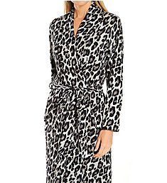 N by Natori Ombre Leopard Robe LC4036