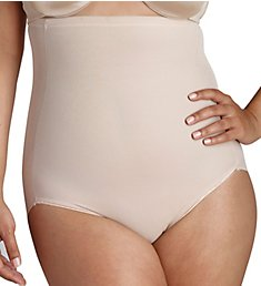 Naomi & Nicole Firm Control Plus Size Hi-Waist Brief 7775