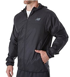 New Balance Windcheater Water Resistant Light Weight Jacket MJ71042