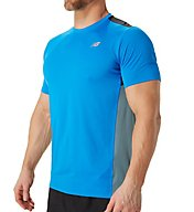 New Balance Accelerate Short Sleeve Performance Shirt MT53061