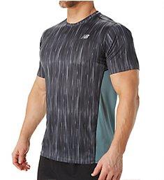 New Balance Accelerate Graphic Short Sleeve Performance Shirt MT71066