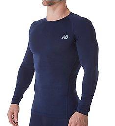 New Balance Challenge Long Sleeve Compression Shirt MT73036