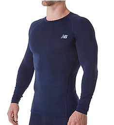 New Balance Challenge Long Sleeve Compression Shirt MT73036
