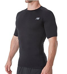 New Balance Challenge Short Sleeve Compression Shirt MT73037