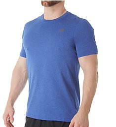 New Balance Heathertech Performance Short Sleeve T-Shirt MT73080