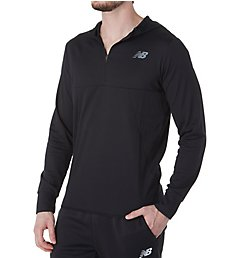 New Balance Tenacity Hooded Quarter Zip MT93089