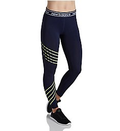 New Balance Accelerate Printed NB Dry Logo Waistband Capri WP81136