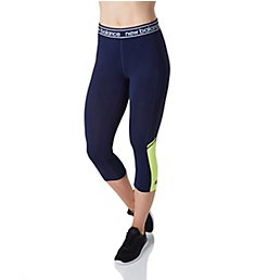 New Balance Accelerate NB Dry Logo Waistband Capri WP81183