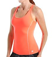 New Balance NB Dry Get Back Racerback Built In Bra Tank WT53114
