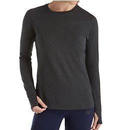 New Balance Heather Tech NB Dry Long Sleeve T-Shirt WT73127