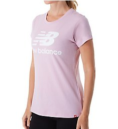 New Balance Essentials Stacked Logo Crew Neck Short Sleeve Tee WT91546