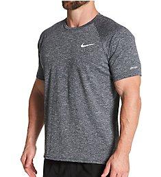 Nike Dri-Fit Short Sleeve Heather Rashguards ESSA589