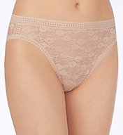 OnGossamer Stretch Lace Hi-Cut Brief Panty 020601