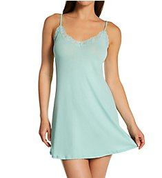 Only Hearts Organic Cotton Lace Trim Chemise 30106